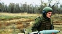 """走近俄罗斯军队 炮兵:一个传奇的三叶树和一个独特的空降兵突击队的""""诺娜 - s""""_0*&*^%RT$%E#$"""