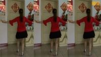 桂林香妹广场舞32步巜想你想不够DJ》编舞:玫香