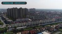 上海奉贤商铺项目(平安新街)-航拍-临港蓝湾国际社区,总价80万起,6月盛大开盘