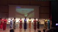 青田县广场舞协会芦花健身队参加第二十八次全国助残曰公益活动。(国家手语)