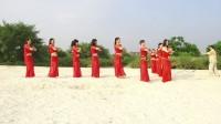 湿地公园沙滩拍摄花絮