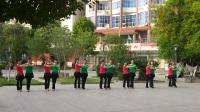 龙川县萧殷公园健身队(慢四四步造型双人舞)VID20180520071230