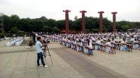 001舞动中国梦彩排花絮--汉城湖300人古筝演奏