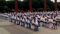 002舞动中国梦彩排花絮--汉城湖300人古筝演奏