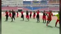 《晋韵水兵舞》第一套展演  中国.长沙 贺龙体育场  山西水兵舞代表团