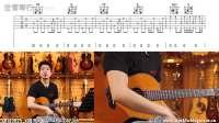 吉他课堂《晴天》 周杰伦 拨片技巧/吉他演奏/弹唱教学/YAMAHA CSF3M 【世音琴行】