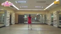 重庆叶子广场舞 爱你在心间 背面