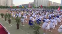扶风初中2018田径运动会啦啦操表演