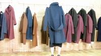 浙江高端女装品牌3U  18年冬35%羊驼绒阿尔巴卡折扣尾货走份