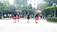 德州红霞广场舞《最美的相遇》原创(双人舞对对跳)