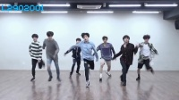 BTS (防弹少年团) - FAKE LOVE舞蹈教学 练习室镜面