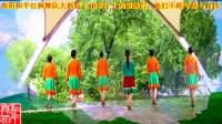世外桃源全国明星团队南阳和平广场舞系列--高贵的蔚蓝(红枫队版)