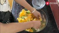 摘了一篮南瓜花, 制作了一道美食, 太美味了, 有这样吃过吗?