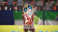 【FIFA18】世界杯之旅03 轮换阵容一球小胜【C罗的世界杯之行】