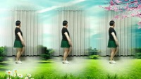 莲芳姐广场舞《草原不寂寞》水兵舞、16步