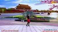 广场舞《 北京的金山上 》水兵藏族风情背面