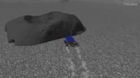我在【屌德斯解说】 模拟青蛙 太空蛙在月球表面惨遭外星异形虫袭击!截了一段小视频