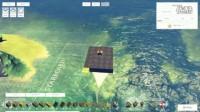 我在【屌德斯解说】 模拟造船 用喷火器居然把自己船点着了截了一段小视频