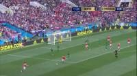 我在【进球】世界杯首球诞生!戈洛温边路传中 加津斯基甩头破门截了一段小视频