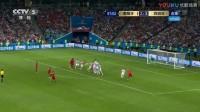 我在【全场集锦】C罗帽子戏法 葡萄牙3-3扳平西班牙截了一段小视频