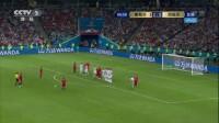 我在【进球】王之霸气!C罗标志性电梯球直挂死角 总裁迎生涯世界杯首帽截了一段小视频