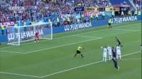 我在【进攻】梅西点球被扑!冰岛门神开挂 小跳蚤错失反超比分良机截了一段小视频