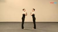 中国舞蹈家协会中国舞考级教材第四版第一级1--10《美丽的夜晚》再见曲(选学组合)