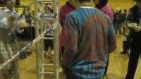 JUSTE DEBOUT中国赛区重量级选手热身