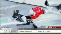 舒马赫驾驶新战车F1测试