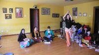(三)晶晶老師於北京曼莉舞館之5天集訓班-中東鼓、指拨肚皮舞、中東音樂節奏