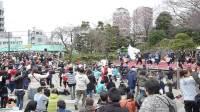 东京飞鸟山公园赏樱节传统歌舞(5)