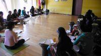 (七)晶晶老師於北京曼莉舞館之5天集訓班-中東鼓、指拨肚皮舞、中東音樂節奏