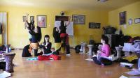 (八)晶晶老師於北京曼莉舞館之5天集訓班-中東鼓、指拨肚皮舞、中東音樂節奏