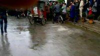 温州茶山基督教堂失火