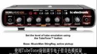 TC RH450贝司音箱头音色视听——TubeTone