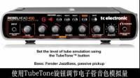 TC RH450贝司音箱头音色视听——TubeTone电子管模拟音色