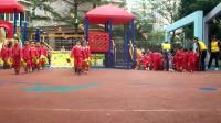 吴雨潼在幼儿园--团体操表演