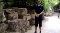 我在武汉中山公园石山旁20100617128