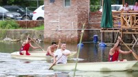 园洲沙头「红棉小站」农庄--划艇友谊赛