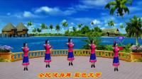 苏北君子兰广场舞系列--339--蓝色的天梦
