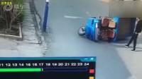 这就是三轮车不要安全带的原因!