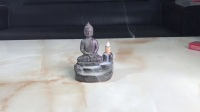 Buddha sculpture ceramic