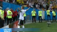 2018俄罗斯世界杯·F组第二轮 读秒进球 德国逆转瑞典获首胜