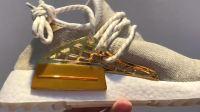 """鱼鳞️Pharrell Williams x adidas Originals Hu NMD 中国限定"""" 快乐""""货号:F99762 尺码:36-45带半码"""