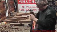 木工视频 传统木工辛全生手工制作插屏全过程总共7集(第二集)