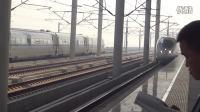 杭甬高速铁路G590次 绍兴北站2站台四道停车 杭深线