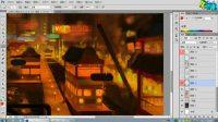 名动漫原画视频基础教程第三讲:幻想东方概念场景设计视频全过程解析之二
