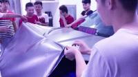 捷豹前机盖贴改色膜【专业讲解】初学者精细教程 黑克膜业原创