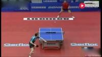 欧洲乒乓球选手超强远台对轰