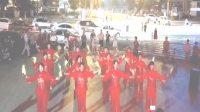 遵化开心广场舞,2018年同乐大舞台庆祝建党97周年文艺晚会,富力开心快乐舞蹈队表演竹板舞十送红军